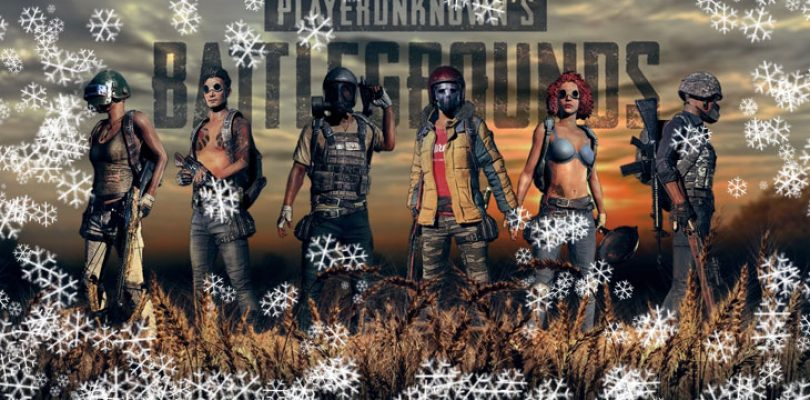 PUBG's snow map data mined along with other new items