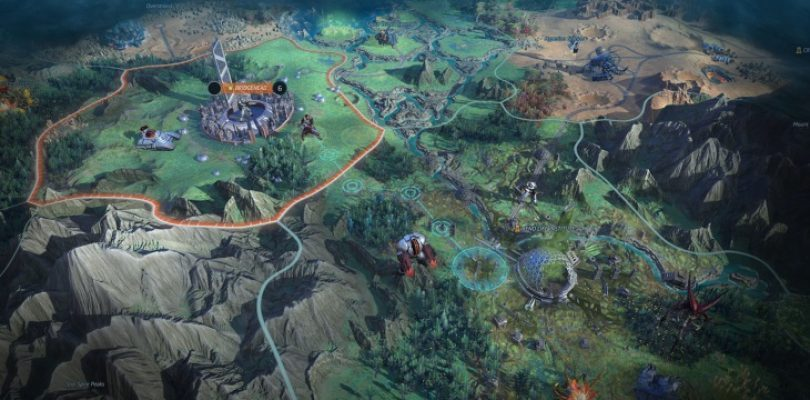 Catch Age of Wonders: Planetfall in action, right from the first steps