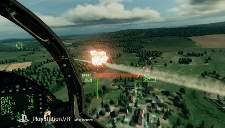 Ace Combat 7: Skies Unknown is looking like a great excuse