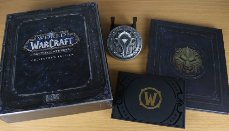 Battle for Azeroth collectors edition unboxing