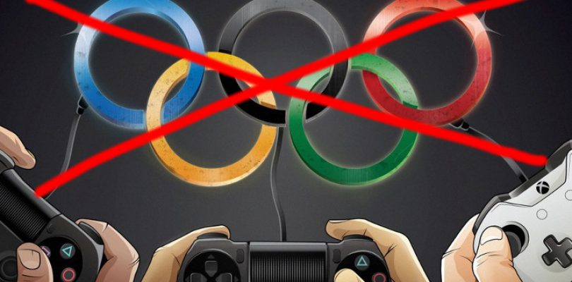Forget esports at the Olympics because it promotes 'violence'