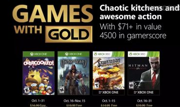 Cook up a storm in your Games with Gold in October