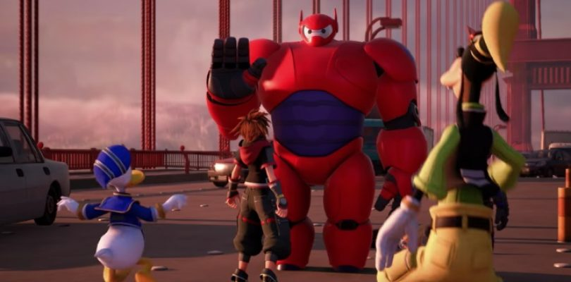 Kingdom Hearts 3 will include Baymax, your personal healthcare companion