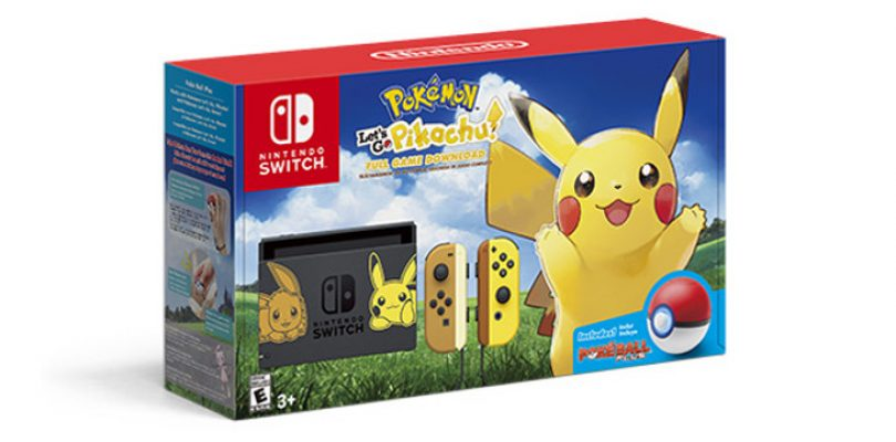 Pokémon Let's Go Series is getting its own Switch