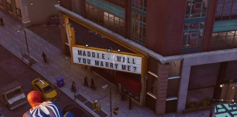 Easter Egg in Spider-Man is a tragic, failed marriage proposal