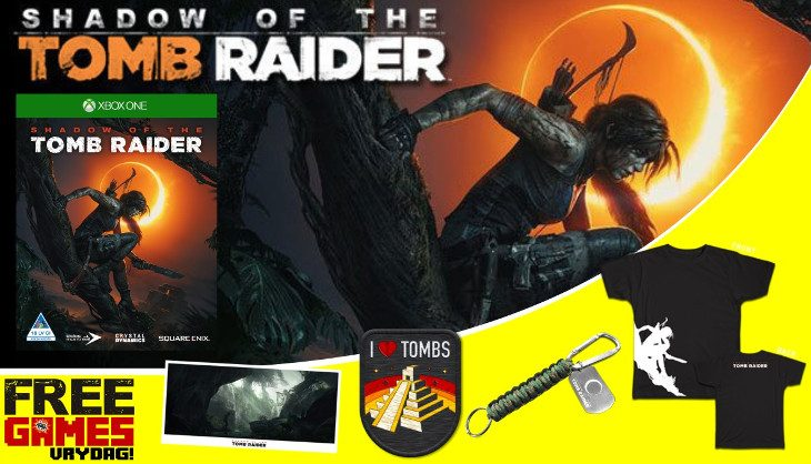 Free Games Vrydag: Shadow of the Tomb Raider (Xbox One)