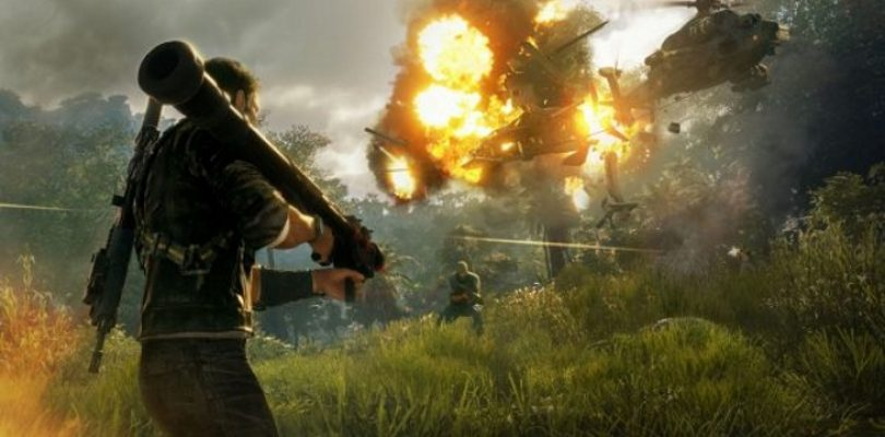 Just Cause 4's story trailer has Michael Bay levels of explosions