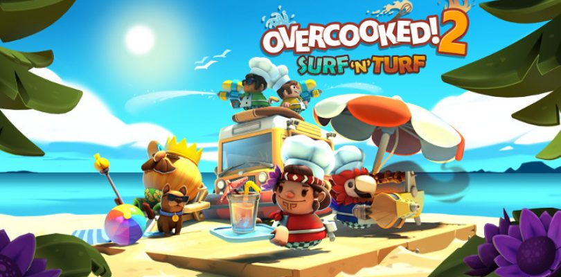 Overcooked 2 has new Surf 'N' Turf DLC