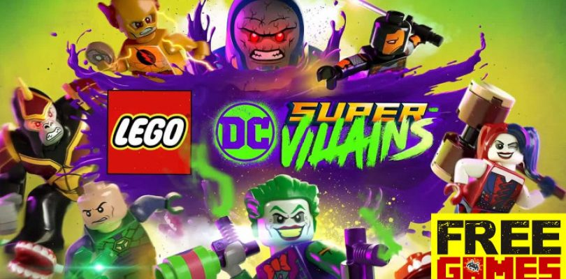 Free Games Vrydag: LEGO DC Super Villains (PS4/Xbox One)