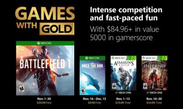 Your Games with Gold in November sneaks into hell and back in time