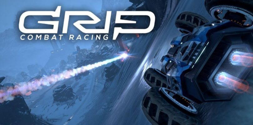 The GRIP Combat Racing soundtrack is sounding very 'Rollcage'