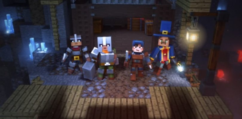 Minecraft's next step is into dungeon crawler territory