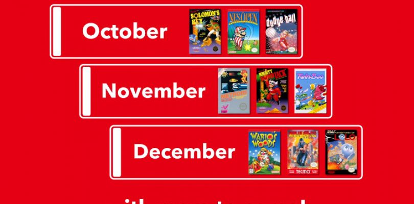Here are your Nintendo Online NES games October through to December