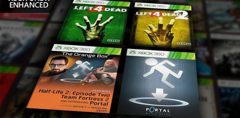 A bunch of Valve classics are now Xbox One X enhanced and backwards compatible