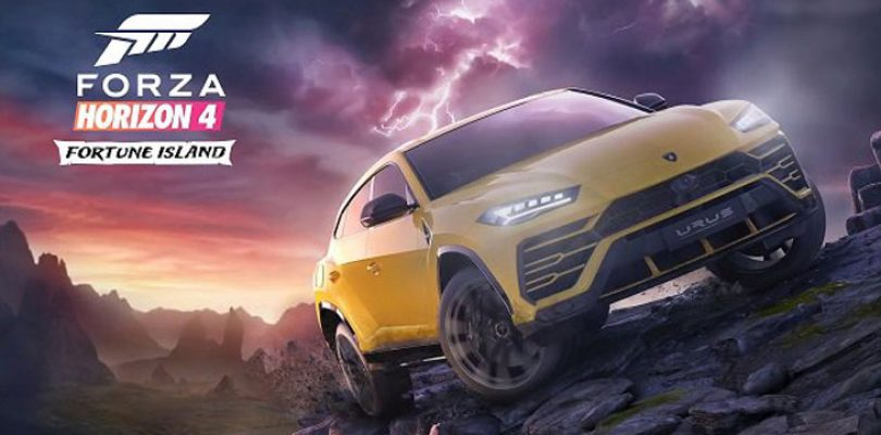 Forza Horizon 4 reveals its first major expansion: Fortune Island