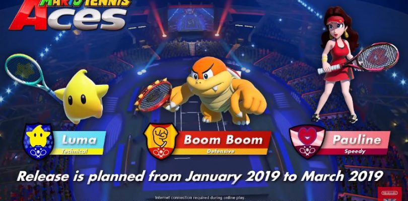 Pauline, Luma and Boom Boom show Nintendo's continued support for Aces overseas