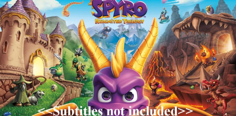 Activision responds to Spyro's missing subtitles issue