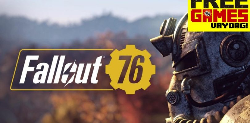 Free Games Vrydag: Fallout 76 (PS4/Xbox One)