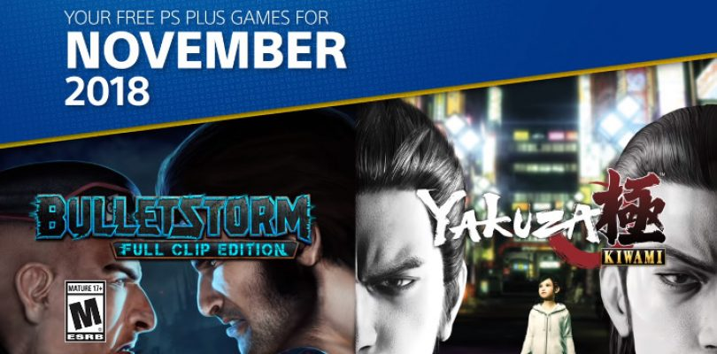 It's an action-packed month for PS Plus in November