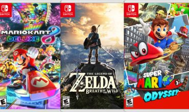 Zelda, Odyssey and MK8D all have an over 50% attach rate