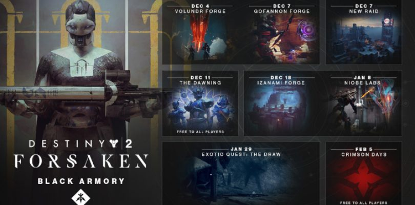 Destiny 2: Forsaken's first Annual Pass content released today