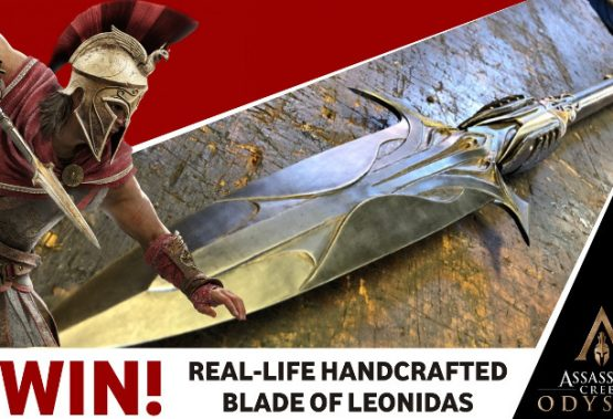 Win a real-life version of Assassin's Creed Odyssey's Spear of Leonidas