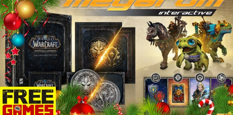 Free Games Vrydag: Megarom WoW CE Festive Season Bundle