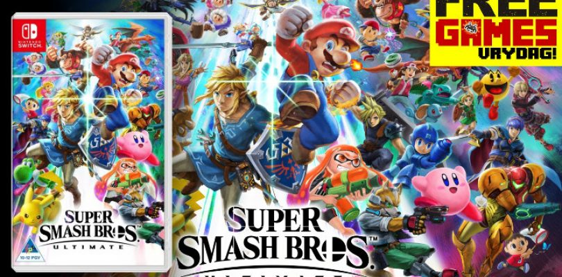 Free Games Vrydag: Super Smash Bros. Ultimate (Switch)