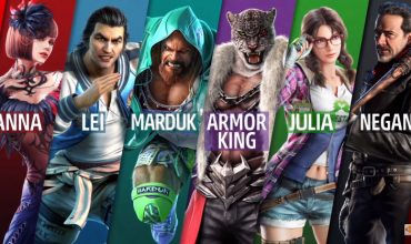 Marduk, Armor King and Julia Chang smash their way into Tekken 7