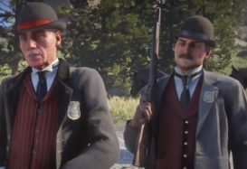 Rockstar find themselves in trouble with the law as the Pinkertons set their sights on them