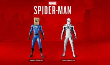 Spider-Man gets two Fantastic Four-themed suits