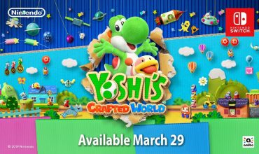 Yoshi's Crafted World leaps onto the Switch in March