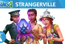 Things are getting Strangerville, population us, in The Sims 4