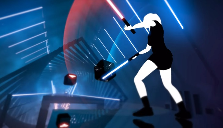 Steam VR was updated because Beat Saber players were moving at