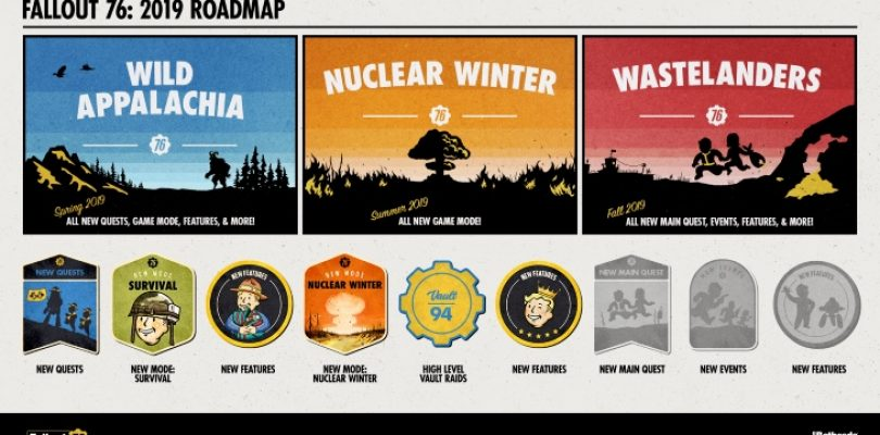 Fallout 76's 2019 roadmap has legendary abilities and new main quest