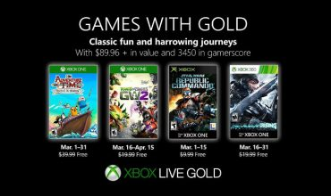 Games with Gold is taking you on an adventure in March