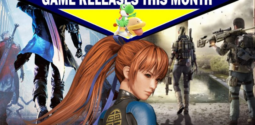 Game releases for March – with predictions!