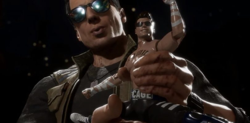 Surprise! Johnny Cage enters Mortal Kombat 11