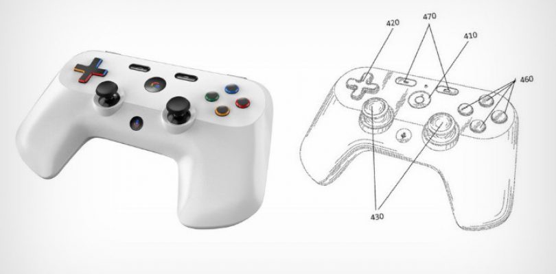 Old Google controller patent sets internet abuzz