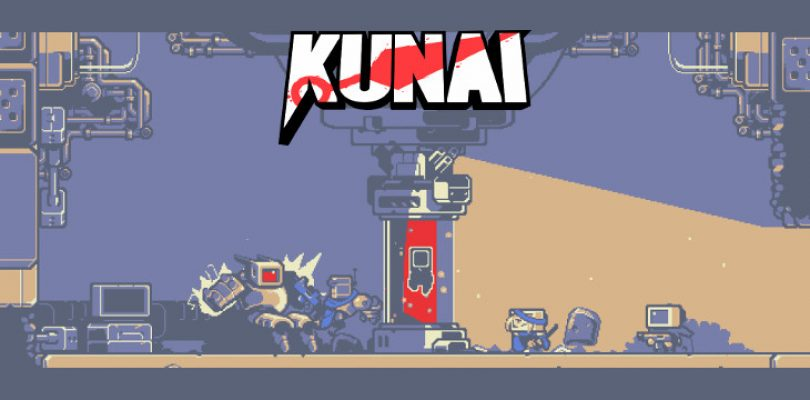 Become a killer robot ninja infused with an ancient warrior in Kunai