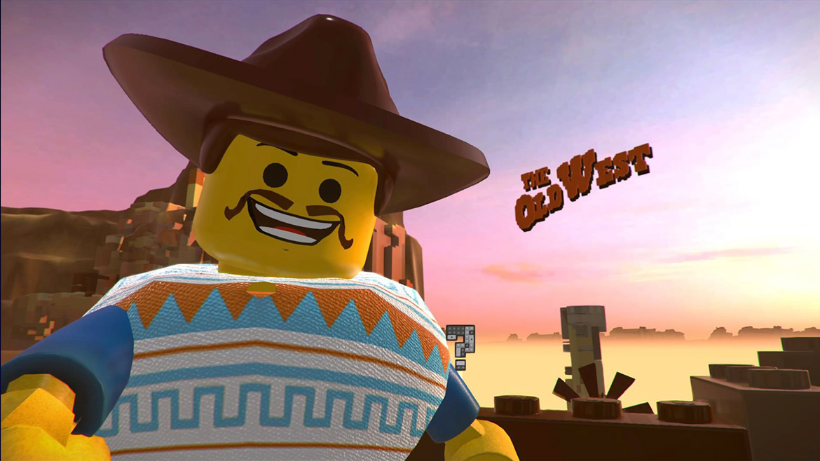 LEGO Movie 2 Videogame Old West Emmet