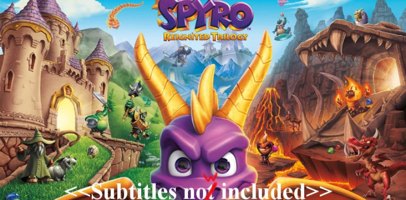 Spyro update finally adds subtitles