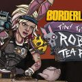 Make it rain crumpets on your Claptrap at Tiny Tina's Robot Tea Party