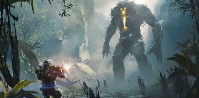 Anthem's story initially had us crash landing on an alien planet