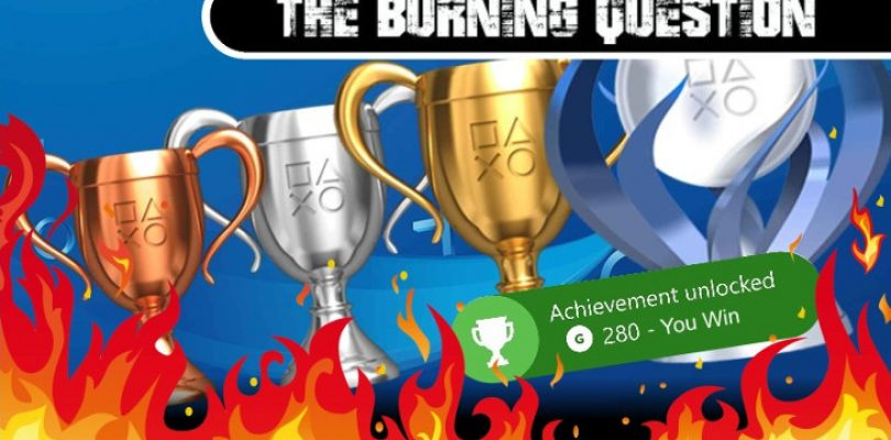 Burning Question: Do Achievements/Trophies diminish a game's replayability?