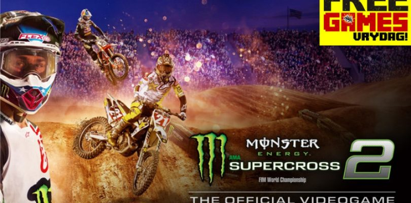 Free Games Vrydag: Monster Energy Supercross – The Official Video Game 2 (PS4/XBO)