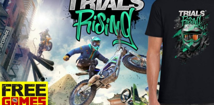 Free Games Vrydag: Trials Rising and a T-Shirt (PS4/XBO)