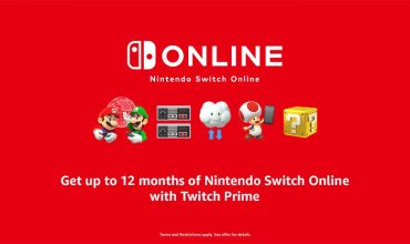 Get Twitch Prime, play Nintendo Online