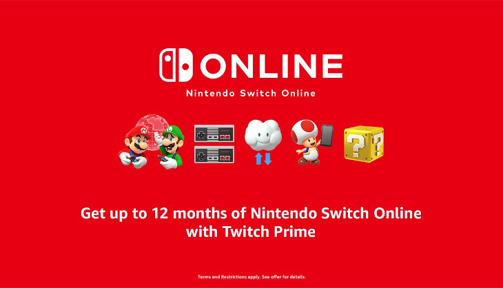 Get Twitch Prime, play Nintendo Online - SA Gamer