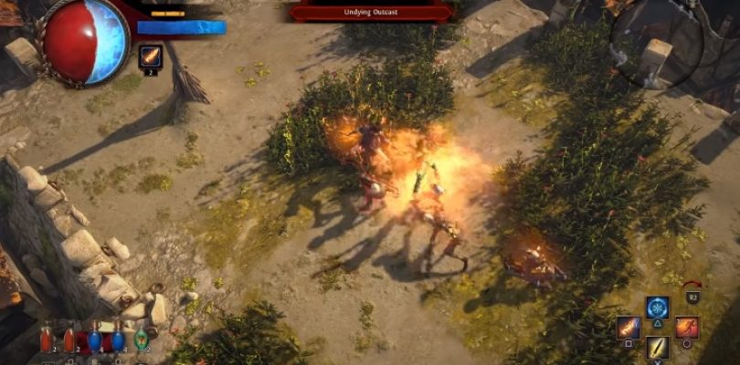 Path of Exile's PS4 release is around the corner